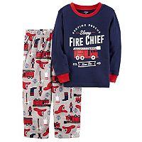 Boys 4-8 Carter's Fire Chief 2-Piece Pajama Set