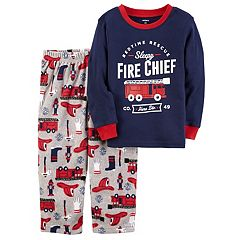 Boys 4-8 Carter's Fire Chief 2 pc Pajama Set