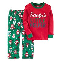 Boys 4-12 Carter's Santa 2-Piece Pajama Set
