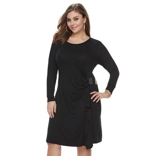 Plus Size Jennifer Lopez Wrap Dress