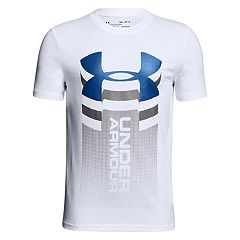 Boys 8-20 Under Armour Vertical Logo Tee