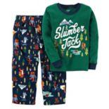 "Boys 4-12 Carter's ""Slumber Jack"" 2-Piece Pajama Set"