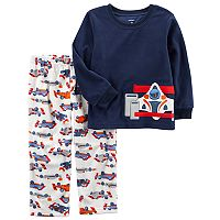 Boys 4-8 Carter's Race Car 2 pc Pajama Set