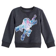 Disney / Pixar Toy Story Toddler Boy Buzz Lightyear Softest Fleece Pullover Sweatshirt by Jumping Beans®