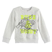 Disney / Pixar Toy Story Toddler Boy Buzz Lightyear & Woody Softest Fleece Pullover Sweatshirt by Jumping Beans®