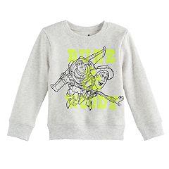 Disney / Pixar Toy Story Toddler Boy Buzz Lightyear & Woody Softest Fleece Pullover Sweatshirt by Jumping Beans®