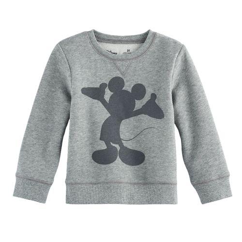Disneys Mickey Mouse Toddler Boy Silhouette Softest Fleece