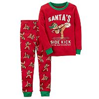 Boys 4-12 Carter's Gingerbread Man 2-Piece Pajamas