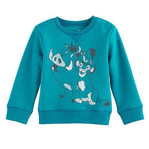 Disney's The Lion King Toddler Boy Timon & Pumbaa Softest Fleece Sweatshirt by Jumping Beans®