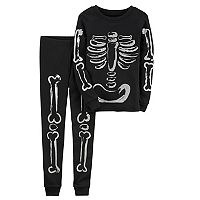 Boys 4-12 Carter's Halloween Skeleton Pajamas