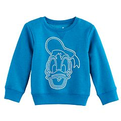 Disney's Donald Duck Toddler Boy Drawing Softest Fleece Sweatshirt by Jumping Beans®