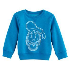Disney's Donald Duck Toddler Boy Drawing Softest Fleece Sweatshirt by Jumping Beans®