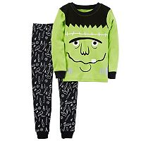 Boys 4-12 Carter's Monster 2 pc Pajama Set