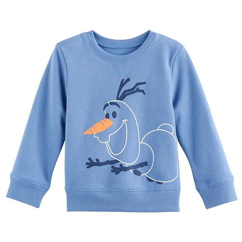 Disney's Frozen Toddler Boy Olaf Softest Fleece Sweatshirt by Jumping Beans®