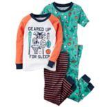 Boys 4-12 Sports 4 pc Pajama Set
