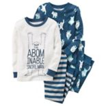 Boys 4-12 Carter's Abominable Snowman 2-Piece Pajama Set
