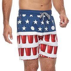 Men's Trinity Collective Blackout Elastic Americana Shorts