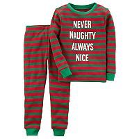 Boys 4-12 Carter's Naughty Or Nice 2-Piece Pajama Set