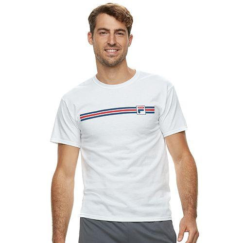 Men's FILA SPORT® Stripe Graphic Tee