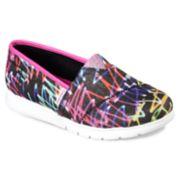 Skechers Lil BOBS Pureflex Glo Lites Girls' Flats