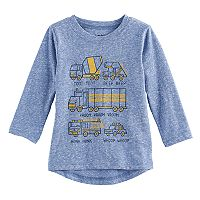 Baby Boy Jumping Beans® Trucks Drop Tail Graphic Tee