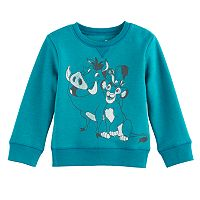 Disney's The Lion King Baby Boy Timon & Pumbaa Softest Fleece Sweatshirt by Jumping Beans®