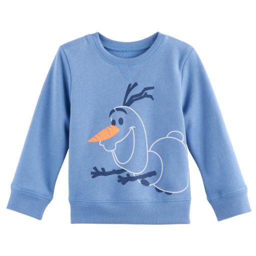 Disney's Frozen Baby Boy Olaf Softest Fleece Sweatshirt by Jumping Beans®