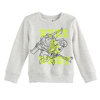 Disney / Pixar Toy Story Baby Boy Buzz Lightyear & Woody Softest Fleece Pullover Sweatshirt by Jumping Beans®