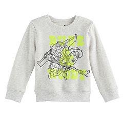 Disney / Pixar Toy Story Baby Boy Buzz Lightyear & Woody Softest Fleece Pullover Sweatshirt by Jumping Beans®