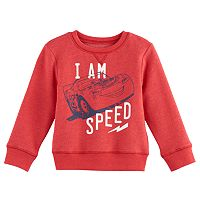 Disney / Pixar Cars Baby Boy Lightning McQueen Softest Fleece Sweatshirt by Jumping Beans®