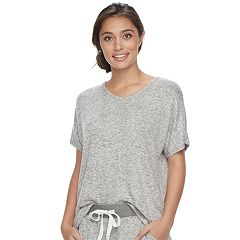 Women's SONOMA Goods for Life™ Pajamas: Oversized V-Neck Tee