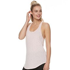 Juniors' SO® High-Low Racerback Tank