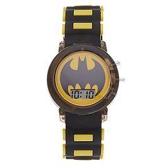 DC Comics Batman Logo Kids' Digital Light-Up Watch