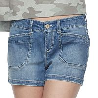 Juniors' Unionbay Delaney Jean Shorts