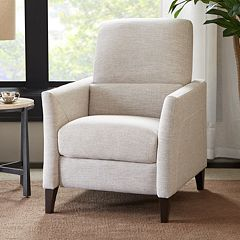Madison Park Roscoe Push Back Recliner Chair