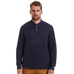 Big & Tall Stanley Classic-Fit Sherpa-Lined Thermal Henley