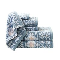 Madison Park Danica 6-piece Jacquard Towel Set