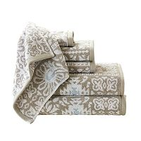 Madison Park Danica 6-piece Jacquard Towel Set