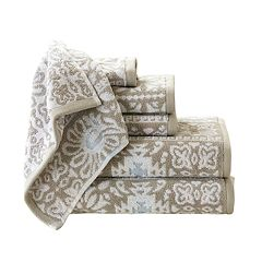 Madison Park Danica 6 pc Jacquard Towel Set