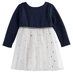 Baby Girl Youngland Glitter Dress