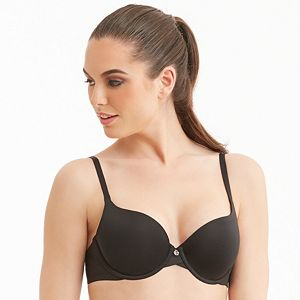 bed83af5cee Montelle Intimates Bra  Wire-Free Convertible Full-Figure T-Shirt ...