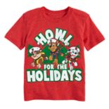 "Toddler Boy Jumping Beans® Paw Patrol ""Howl for the Holidays"" Graphic Tee"