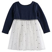 Toddler Girl Youngland Glitter Dress