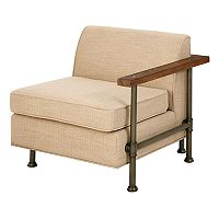 INK+IVY Atlanta One Arm Lounge Accent Chair