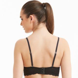 Montelle Intimates Bras: Scalloped Lace Bralette 9334