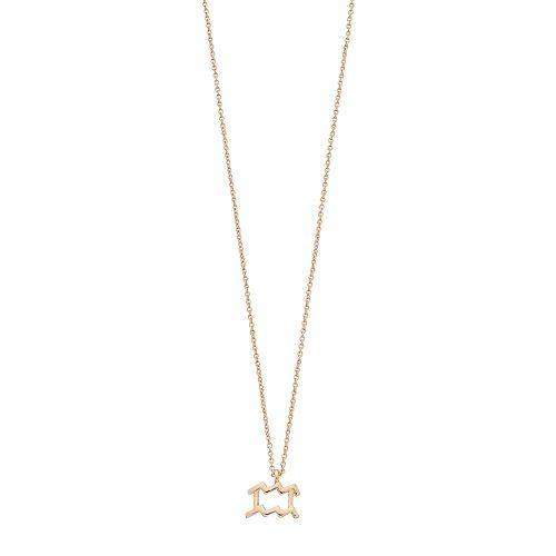 LC Lauren Conrad Zodiac Pendant Necklace
