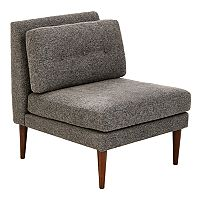 INK+IVY Auburn Armless Lounge Accent Chair