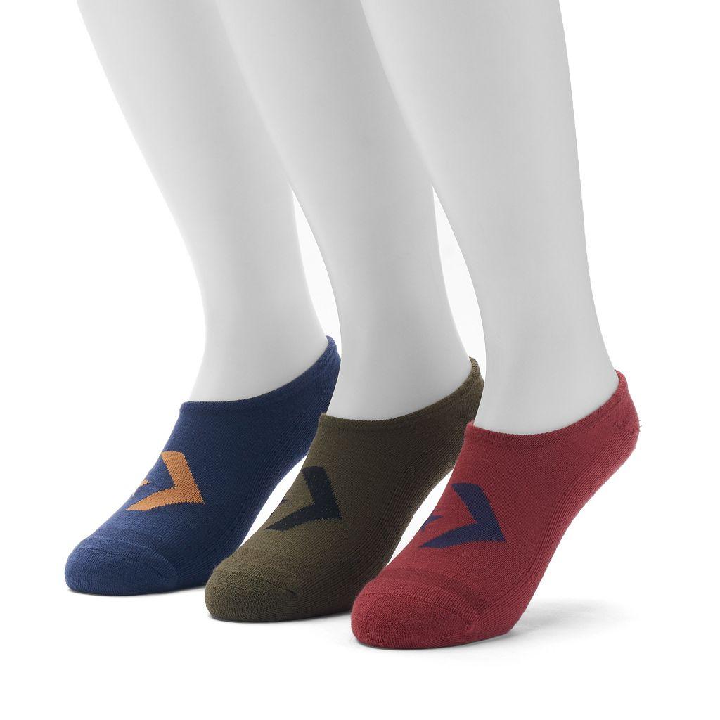 Men's Converse 3-pack Chevron Low-Cut Socks