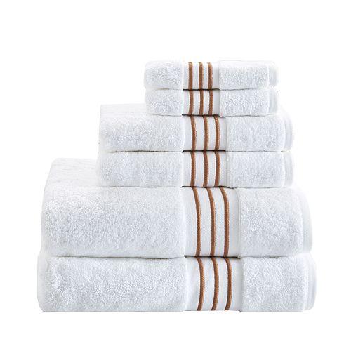 Madison Park Coelho Embroidered 6-piece Cotton Towel Set