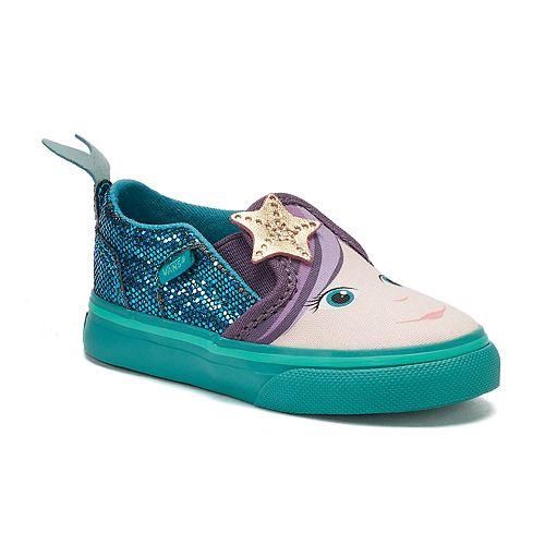 b5fdb8268b Vans Asher Mermaid Toddler Girls  Skate Shoes